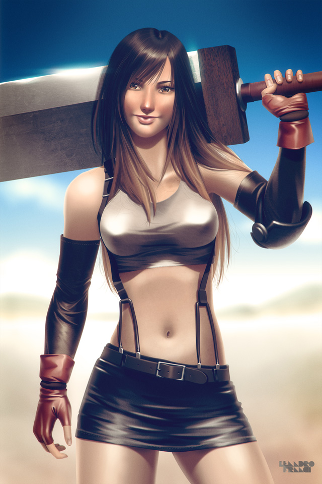 Incríveis Ilustrações de lindas super-heroínas