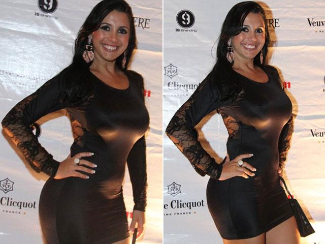 Karine Camargo, a Morena da Laje