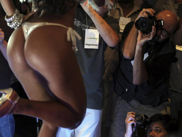 Fotos da final do miss bumbum 2012