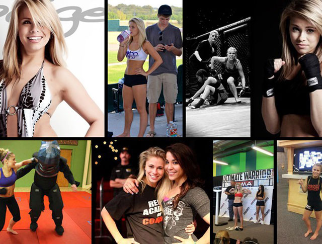 Modelo de 18 anos é a mais nova atração do MMA feminino
