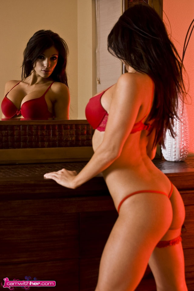 Angelina-Stevens-in-Red-Lingerie-19