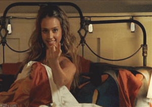 Jessica Alba te chamando pra cama