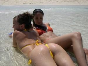 12 fotos de mulheres molhadas