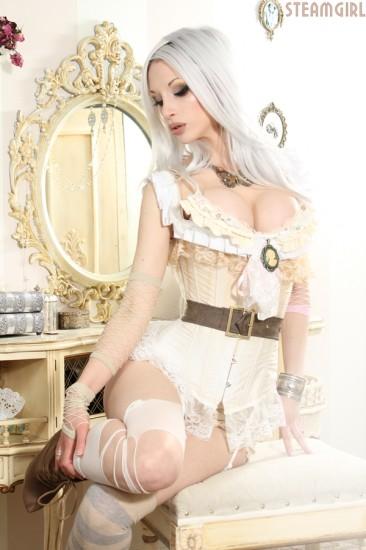 Kato Steampunk uma linda fashion designer