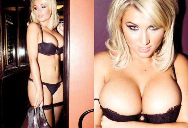 Billie-Faiers-Ensaio-sensual-para-Nuts-UK-2