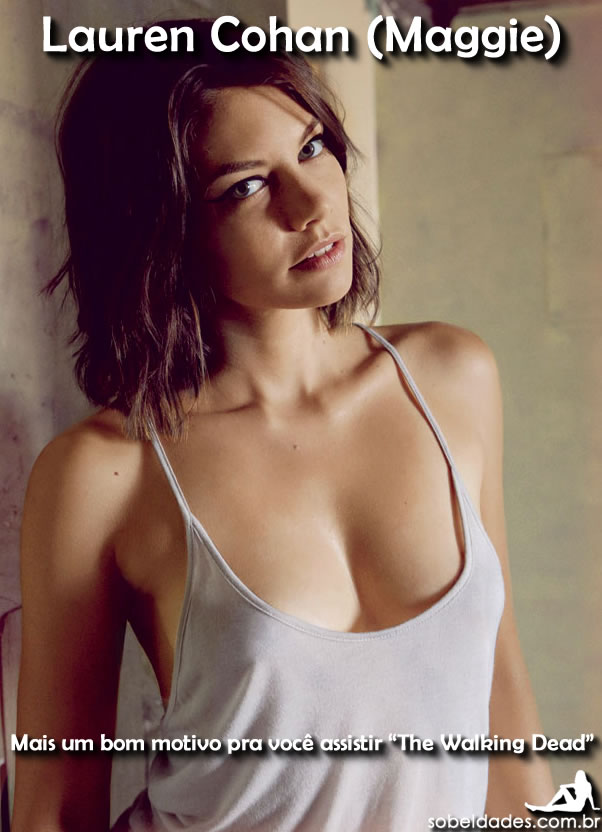 Lauren Cohan Maggie