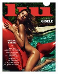 Gisele Bündchen na Lui Magazine