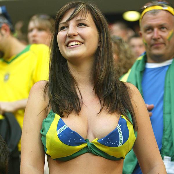Os melhores peitos da copa do mundo