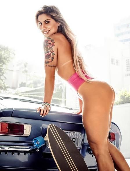 Capa Playboy julho 2014 Vanessa Mesquita nua