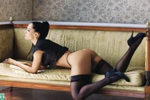 Mônica Carvalho nua na revista Playboy