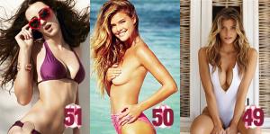 Os 60 melhores peitos naturais das celebridades