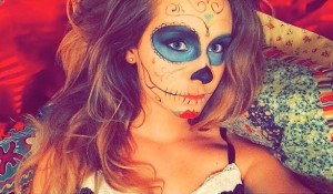 As mais gatas do  Dia de Los Muertos
