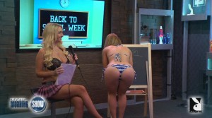 Aula de espanhol – The Playboy Morning Show