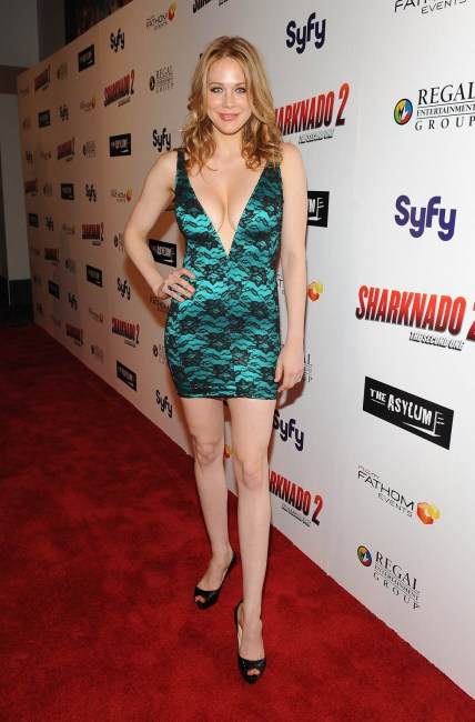 "Premiere Of The Asylum & Fathom Events' ""Sharknado 2: The Second One"" - Red Carpet"