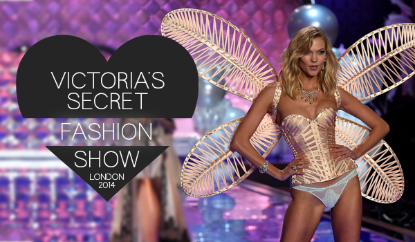 Victoria's secret fashion show em Londres 2014