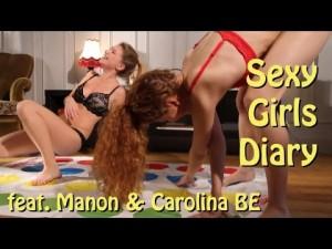 Sexy Girls – Jogando Twister só de lingerie