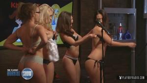 The Playboy Morning Show – Se errar tira uma peça de roupa