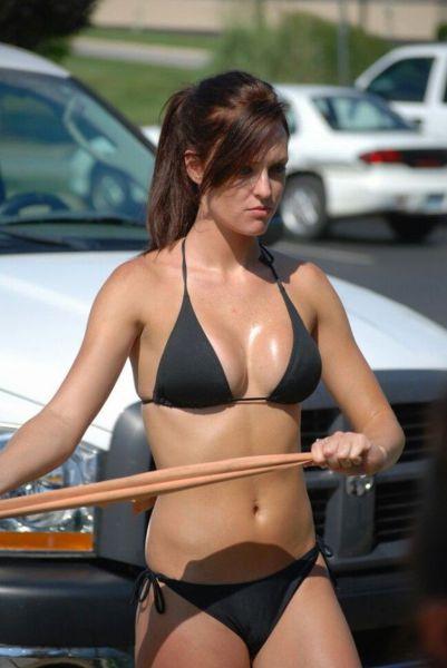 Um bom lugar para lavar o carro