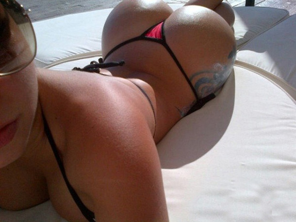 Hot-Girl-Sun-Bathing-With-Tiny-Micro-Bikini-and-Perfect-Butt