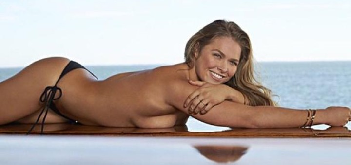 Ronda Rousey - 2015 Sports Illustrated Swimsuit