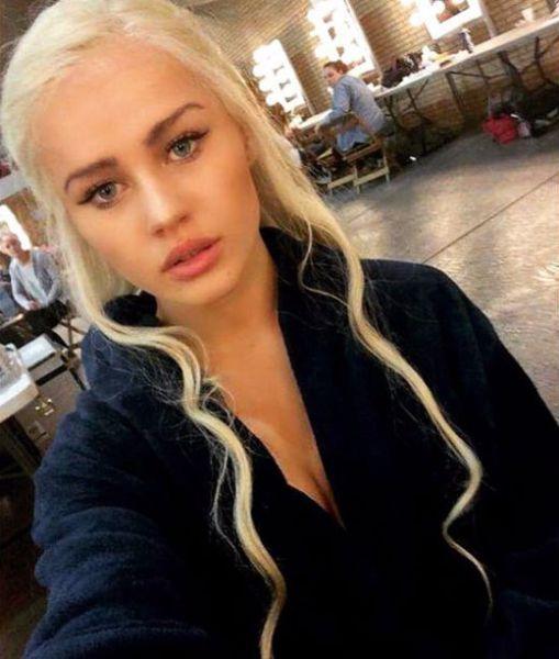Daenerys Targaryen na vida real