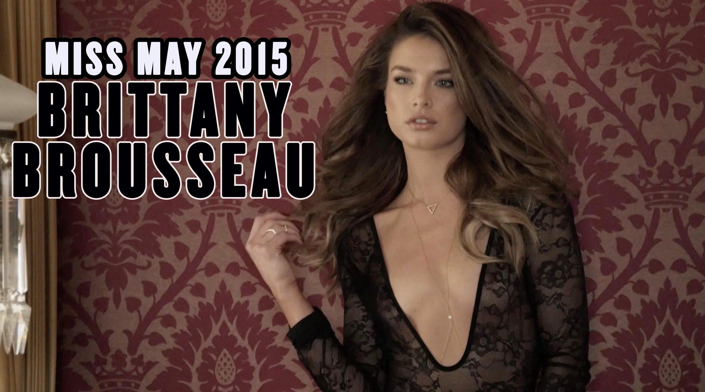 Brittany Brousseau de lingerie