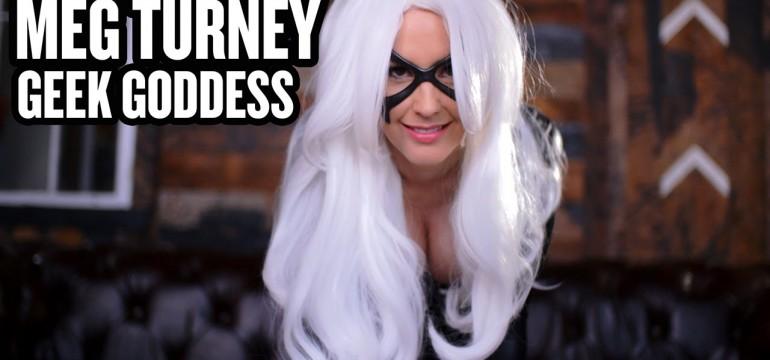 Meg Turney exibindo seu lado nerd com um belo Cosplay