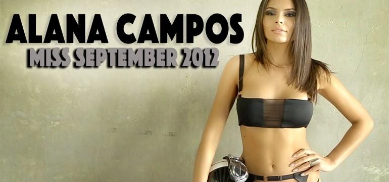 capas da playboy: Alana Campos, Miss setembro da Playboy