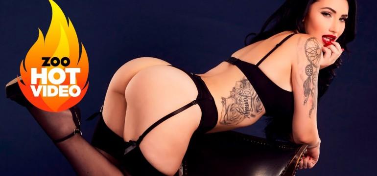 As belas tatuagens de Krystal Nevaeh