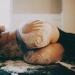 bunda suja de farinha