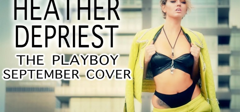 Heather Depriest Graces capa da playboy