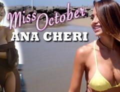 Ana Cheri - Miss outubro de 2015