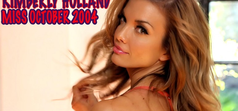 Kimberly Holland miss outubro de 2004