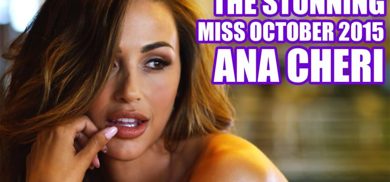 Making of Ana Cheri miss outubro de 2015Making of Ana Cheri miss outubro de 2015