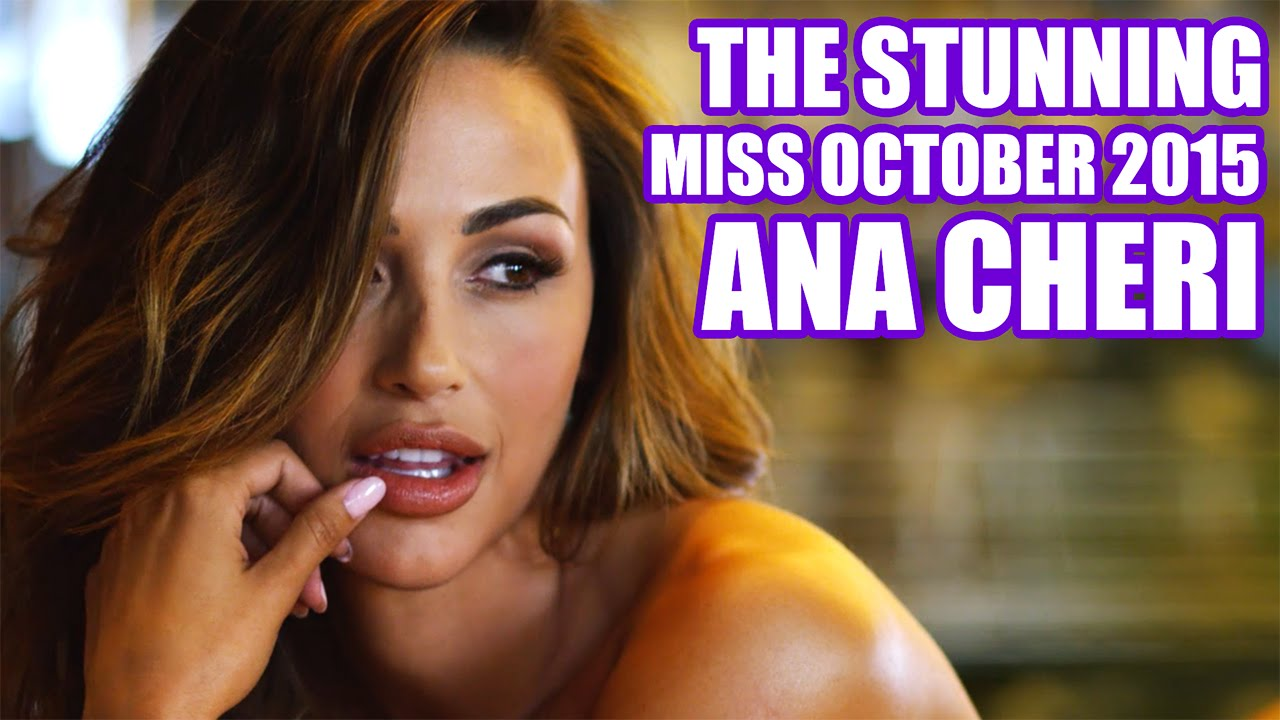 Making of Ana Cheri miss outubro de 2015