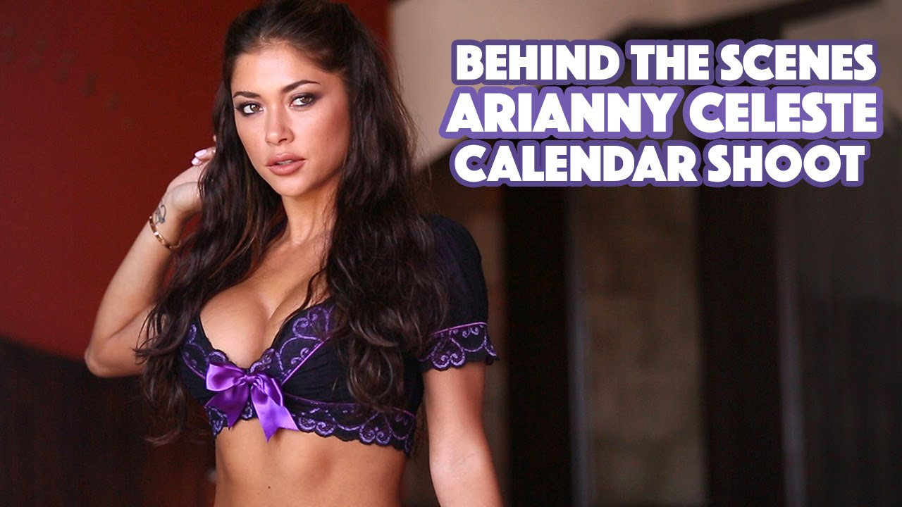 making-of das fotos de Arianny Celeste no México