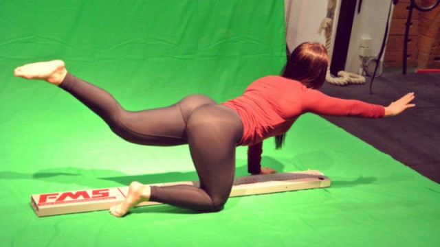 A beleza está aqui: Yoga pants