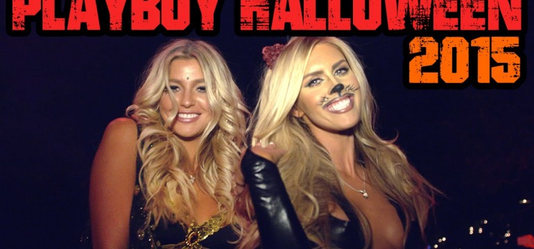 Playboy Mansion Halloween Party 2015