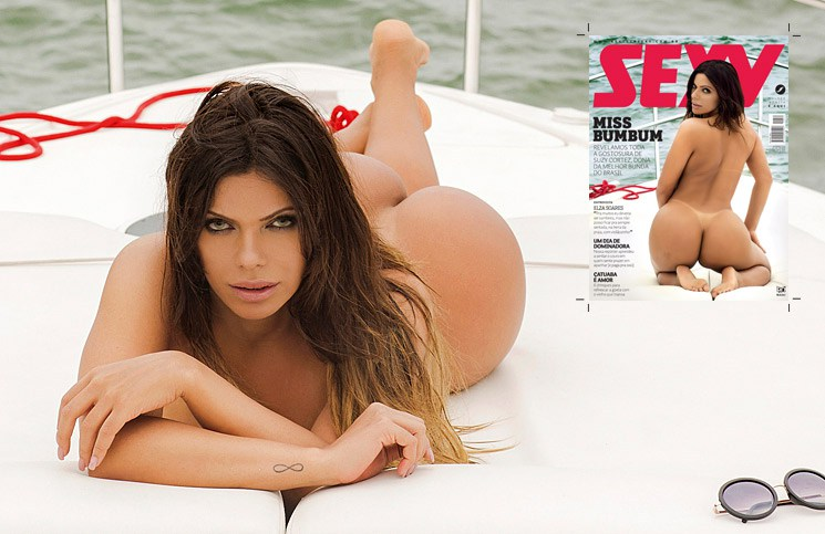 Suzy Cortez Missa bumbum 2015 capa da revista sexy
