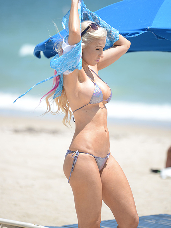 Ana Braga Shows Off Her Bikini Body