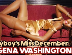 Miss December Eugena Washington