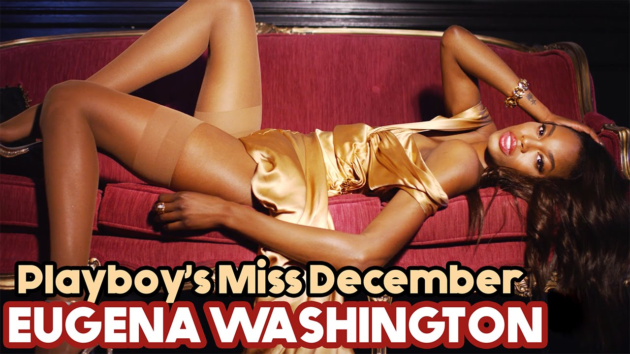 Miss December Eugena Washington