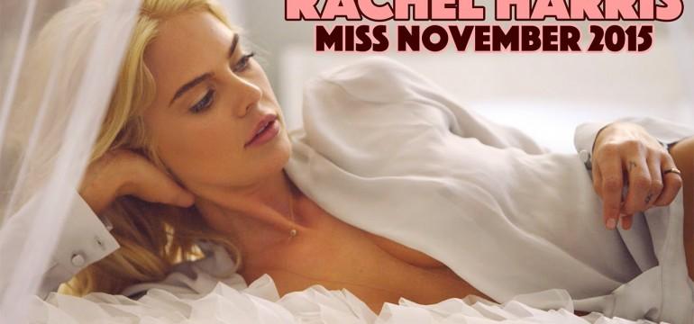 Rachel Harris: Miss Novembro de 2015