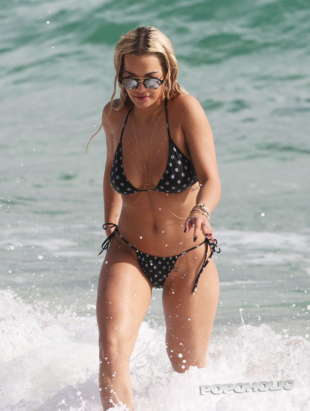 Rita Ora Shows Off Her Bikini Body In Miami
