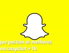 Os melhores nudes do snapchat +18