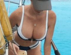 limpadinha no barco..