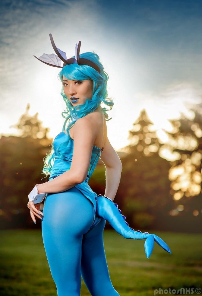 Cosplay babes pokemon trainer takes a bbc - 3 2