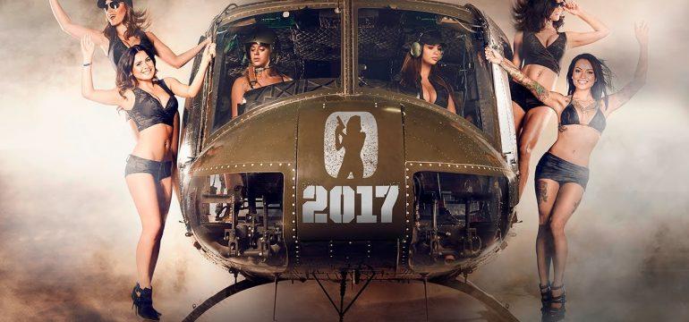 Hot Shots Calendar 2017