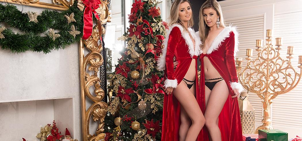 Bella da semana especial de natal: Dieimi Sherllon e Monique Helena