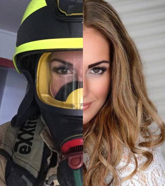 Gunn Narten, a bombeira mais linda do mundo